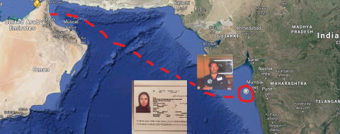 """US citizen missing - INDIAN INTELLIGENCE CLAIMS: """"Sheikha Latifa is alive and has been taken back to Dubai"""""""