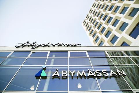 Premiär för Åbymässan!