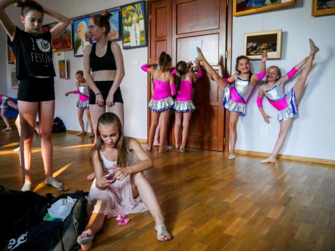Paweł Jędrusik, Dance