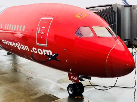 Norwegians Dreamliner G-CKNY