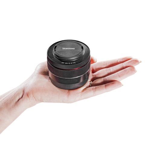 AF 35 mm F2.8 Sony FE. Foto: Foto Walser