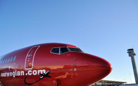 Norwegian med god passagervækst i februar