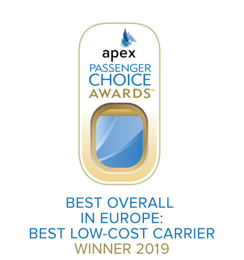APEX - Best Low Cost Carrier in Europe 2019