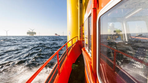 Havmølleparker med SOV har højere oppetid