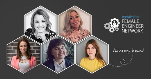 Fem kvinnor ska stärka ledande kvinnligt ingenjörsnätverk
