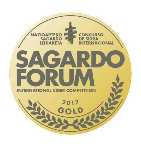 Brännland Cider vinner Guldmedalj och bästa iscider i Baskien
