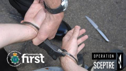 One man charged following knife recovery in Prescot