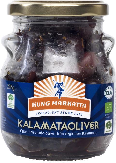 Kung Markatta Kalamataoliver (med kärna)