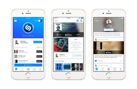 For the First Time, See What Artists Are Discovering In Shazam
