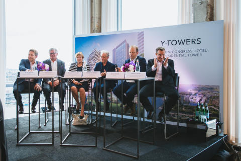 Podiumsdiskussion zum Groundbreaking Event Amsterdam