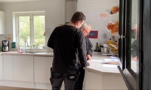 Lindab dokumenterer effekten af en ventilationsløsning på radon