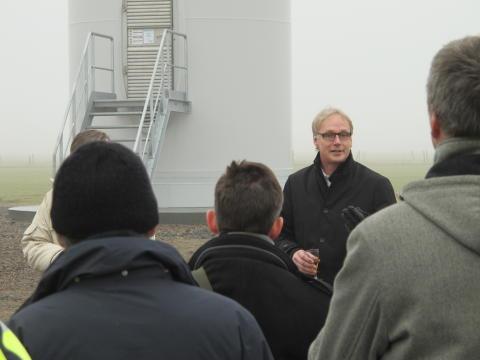 Invigning, Ingelsträde vindkraftverk 140219