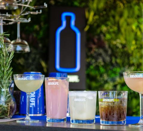 Clarion Hotel SIgn - Rooftop Garden Bar - Cocktails