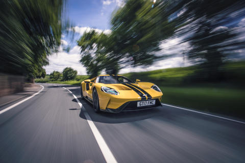 Ford GT leverer racerbilfølelse på landeveien med 50 sensorer