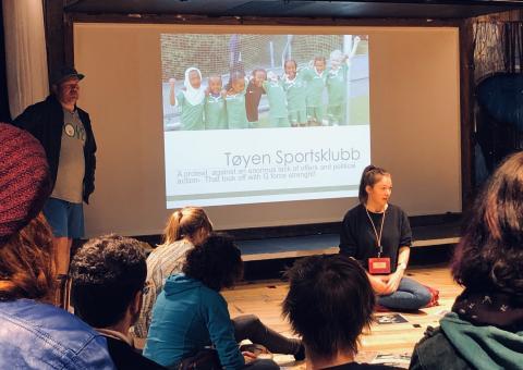 Guidet omvisning på Tøyen populær under global konferanse for byutvikling