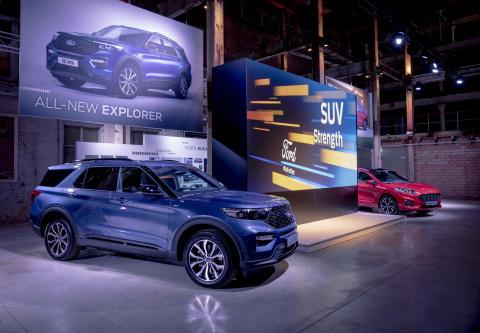 Stor interesse for Fords mange elektrifiserte nyheter