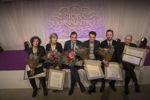 De vann Stora Journalistpriset 2018!