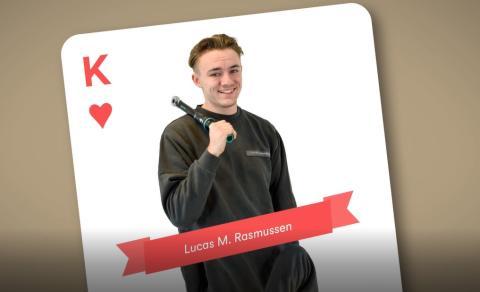 Lucas Rasmussen, lastvognsmekaniker