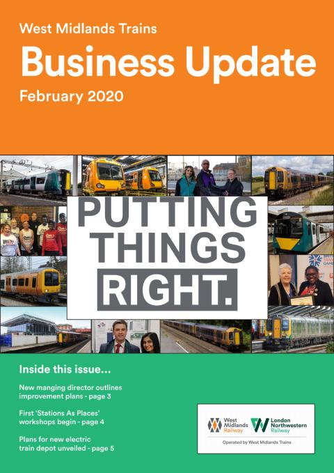 West Midlands Trains Business Update - February 2020