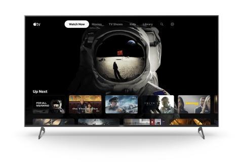 Sony lanza la app Apple TV en modelos determinados de su gama de smart TVs