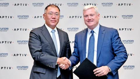 Hyundai Motor Group og Aptiv danner joint venture for utvikling av autonom kjøring.