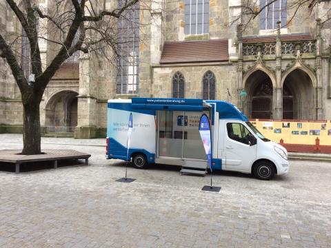 Beratungsmobil der Unabhängigen Patientenberatung kommt am 5. April nach Nördlingen.