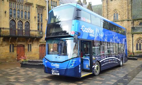 The Castles Express X21 – events in Durham, Newcastle and Bishop Auckland