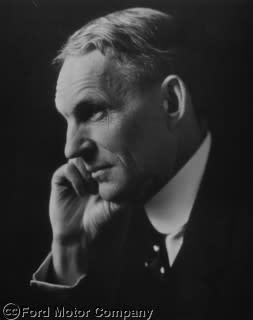Portrettbilde av Henry Ford