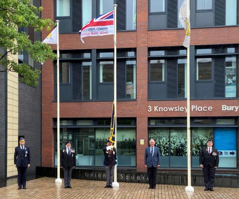 Armed Forces Day marked with intent to review Covenant in Bury