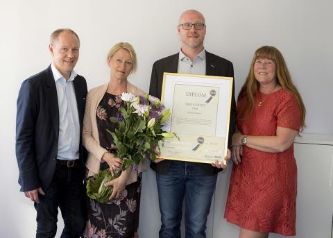 Attendo Rödakorsgatan i Tyringe är årets enhet inom Attendo Skandinavien Omsorg