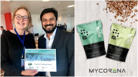Mycorena AB won the Arla Food tech challenge at the European Food Venture Forum 2019!!