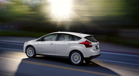 Ford har satt prisen på nye Focus Electric