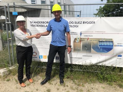 SUEZ och Malmberg i teknologisamarbeide for det Norske markedet.