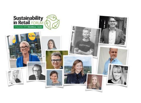 Deltagare från Lidl, Retail House och Too Good To Go kompletterar talarlistan på Sustainability in Retail Forum