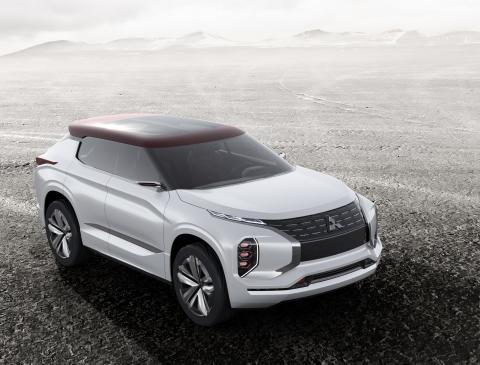 """Mitsubishi auf der Paris Motorshow 2016: Highend-SUV-Studie """"GT-PHEV Concept"""" feiert Weltpremiere"""