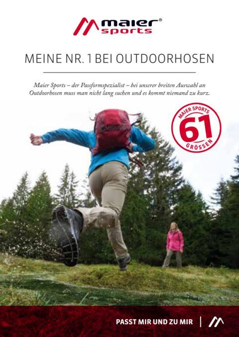 Hosenbooklet - Meine Nr. 1 bei Outdoorhosen