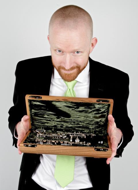 Johannes Ögren, oboist NorrlandsOperan