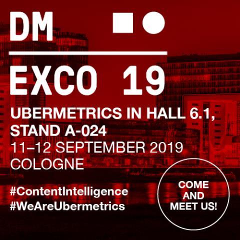 Ubermetrics @DMEXCO2019