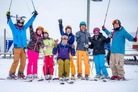 Nå kommer de kinesiske skituristene
