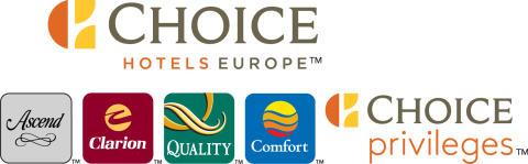Choice Hotels Europe Logo. Extreme Horizontal