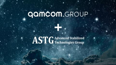 Qamcom Group and ASTG in strategic partnership.