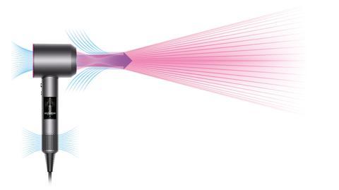 Dyson Supersonic Air Multiplier technologie