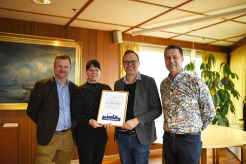 The port in Malmö is the sustainability location of the year