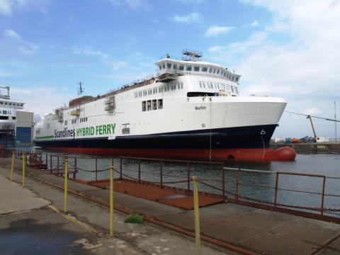 Scandlines' neue Schiffe wieder im Wasser 2