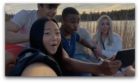 Nu kan svenskarna dela sin hemester i tv-rutan