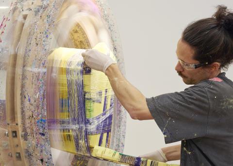 Anton_Alvarez, Thread Wrapping Machine