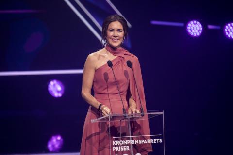 H.K.H. Kronprinsesse Mary til Kronprinsparrets Priser 2019