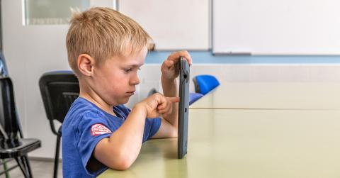 Bildetekst: iMALs metode gir læreren unik innsikt i hva eleven kan og ikke kan av bokstaver og lesing. Foto: Line L. Wendel