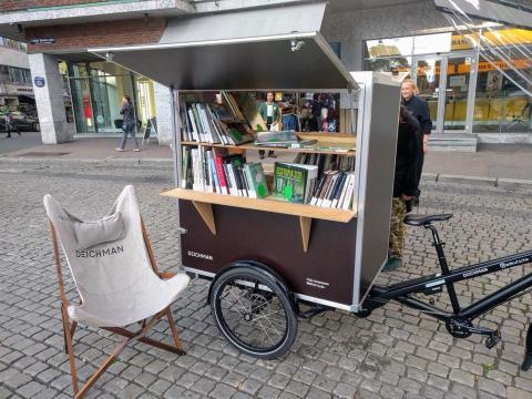 Deichman åpner utendørsbibliotek for hele Oslo