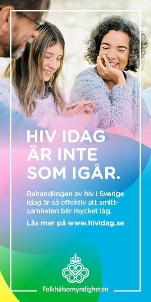 Landstinget deltar i kampanj för att öka kunskapen om hiv